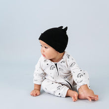 baby kids girls boys beanie with ears black organic cotton kira kids audrey and olive shop the woods sf