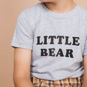 shop the woods bee and the fox little bear tee tshirt t-shirt baby kids girls boys clothes clothing