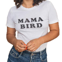 shop the woods bee and the fox mama bird feminist white tee tshirt t-shirt baby kids girls boys clothes clothing