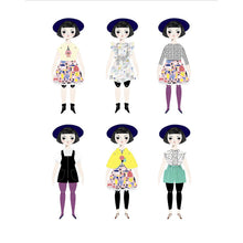 The Woods Of Unusual Kind Paper Doll Kits Fashion Olive