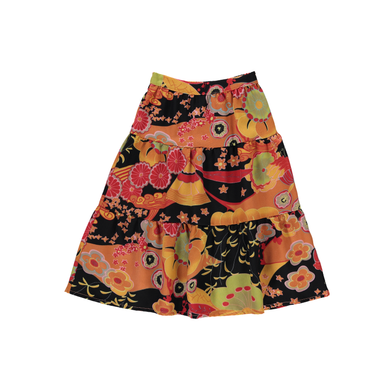 The Woods Ultra Violet Kids Peasant skirt japan sustainable kids fashion