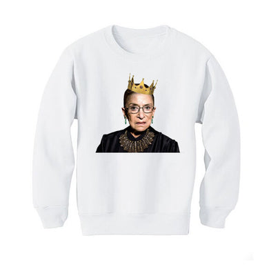 The Woods Disco Panda Kids Kids children sweatshirt ruth bader ginsburg notorious RBG supreme court justice