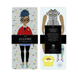The Woods Of Unusual Kind Paper Doll Kits Fashion Rosemarie