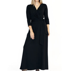 The Woods Taylor Jay london wrap dress black woman owned business oakland
