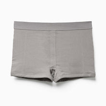 Shop The Woods Richer Poorer most comfortable lingerie intimates cotton femme womens boxer briefs underwear panties panty shorts charcoal grey