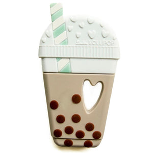 Loulou Lollipop silicone teether boba classic bubble tea baby babies audrey and olive maternity clothes shop the woods san francisco