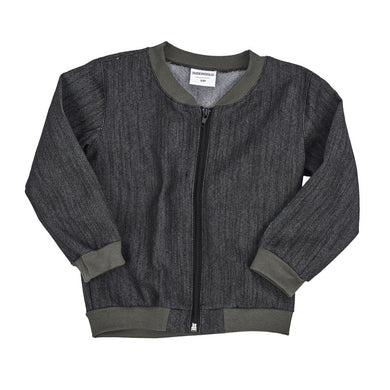 baby kids bomber varsity jacket dudes-n-dolls audrey and olive shop the woods sf black blue denim khaki