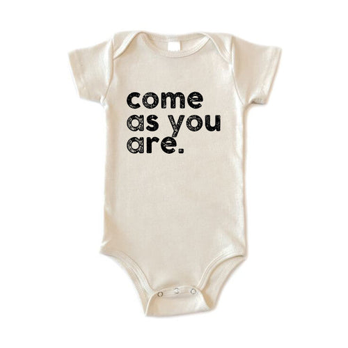 The Woods Disco Panda Kids Nirvana Come as you are lyrics t-shirt tee baby onesie Kurt Cobain