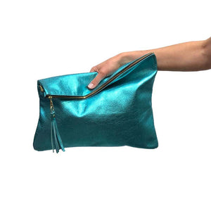 Hollis Foldover Clutch Bag