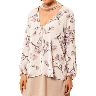 the woods Audrey Olive Maternity chiffon floral tie cardigan kimono 3+1