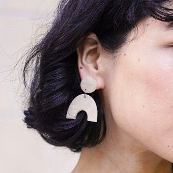 Columba Clay Earrings
