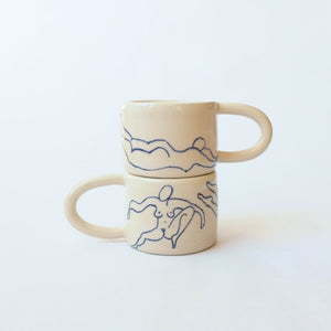 Nude Line Drawing Mug