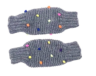 Hand-Knit Alpaca Leg or Arm Warmers