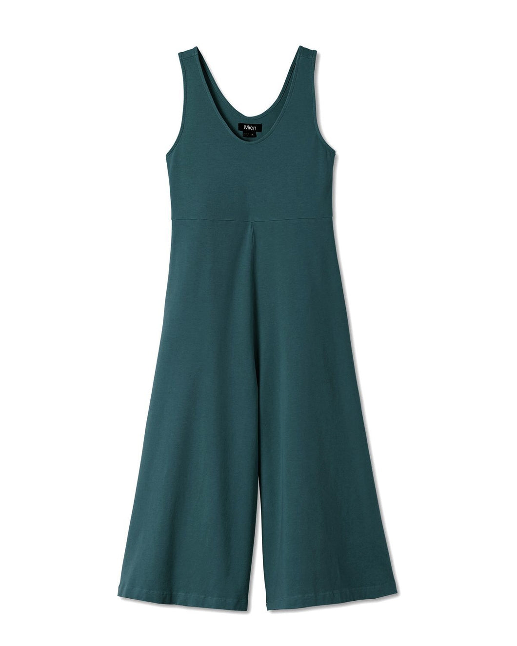 The Woods Mien Studios lakeside jumpsuit romper maternity rich teal turquoise blue