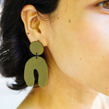 Pavo Clay Earrings