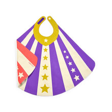 vThe Woods Lovelane Designs kids childrens costume hero cape reversible purple pink red stars