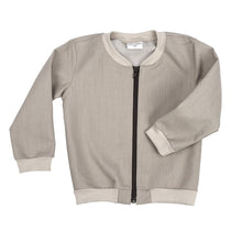 baby kids bomber varsity jacket dudes-n-dolls audrey and olive shop the woods sf beige sand