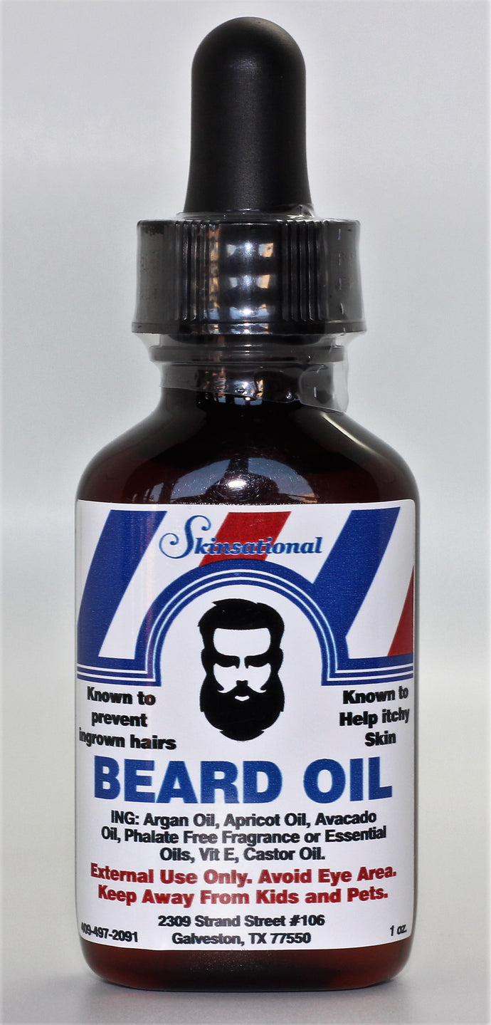 Mens- Beard Oil-  Sandlewood Patchouli