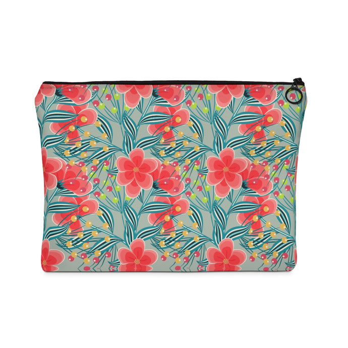 Flowers & Berries - Carry All Pouch - Flat