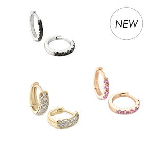 Stacking Ring Diamonds Gold 18ct Full Eternity UK London Jewellery Store Kensington Pink Sapphire Yellow Orange Red Blue Green Precious Stones