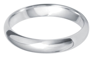 Paris court 4.0mm wedding ring