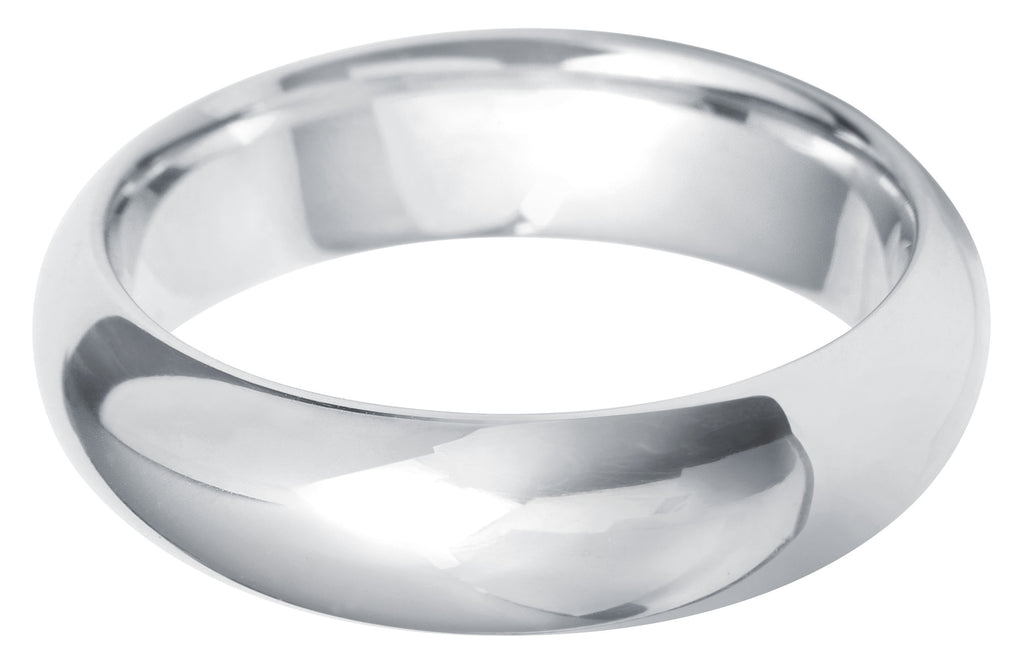 Paris court 6.0mm wedding ring