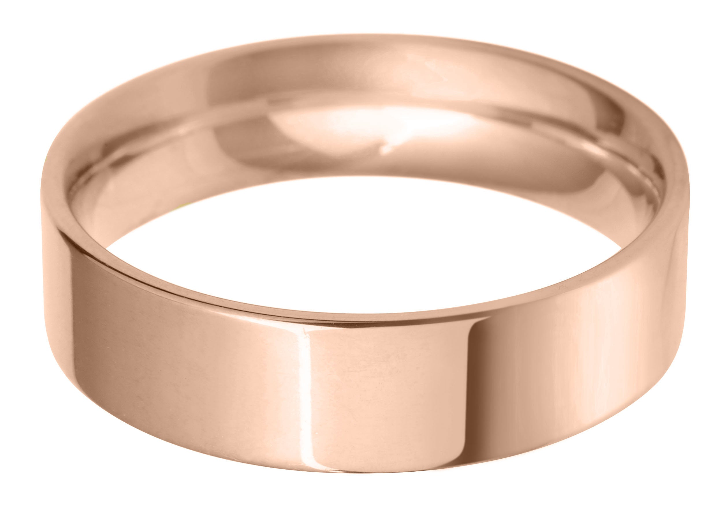 flat court 6.0mm wedding ring