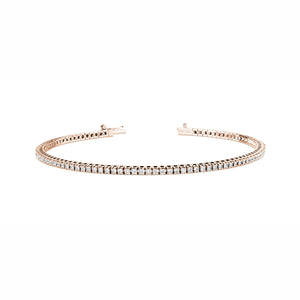 bracelet tennis  en platin et diamants -1 carat