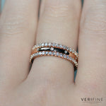 diamond XV filler ring stack