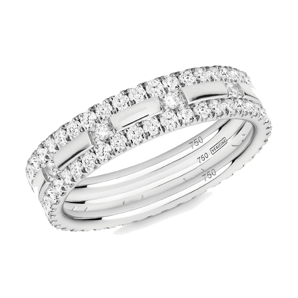 diamond XX filler ring stack