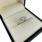 Diamond Trilogy Ring 18ct gold P.O.A.