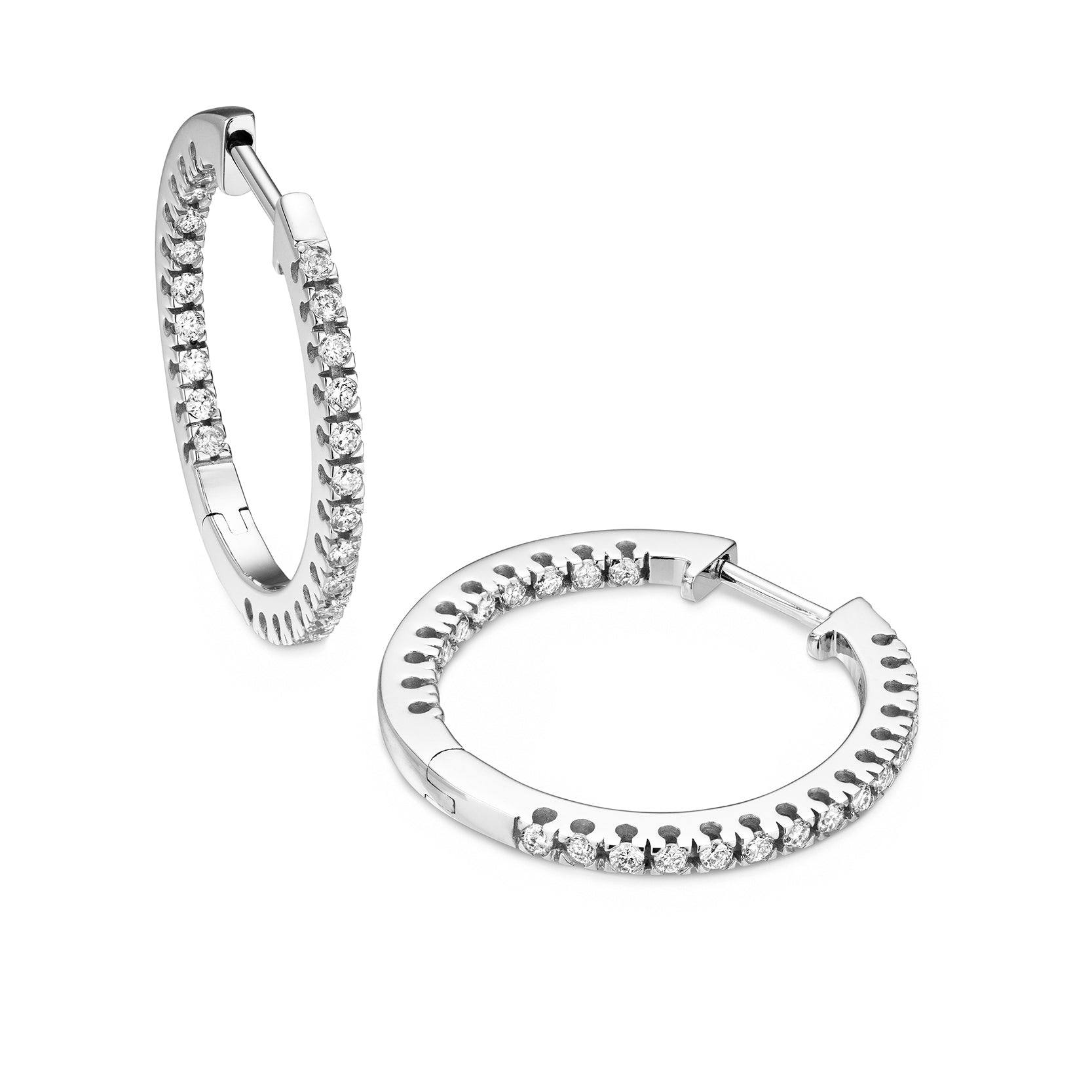 diamond 20mm hoops