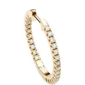 diamond full-set 20mm hoops 18ct yellow gold
