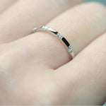 diamond 10-stone XX filler ring