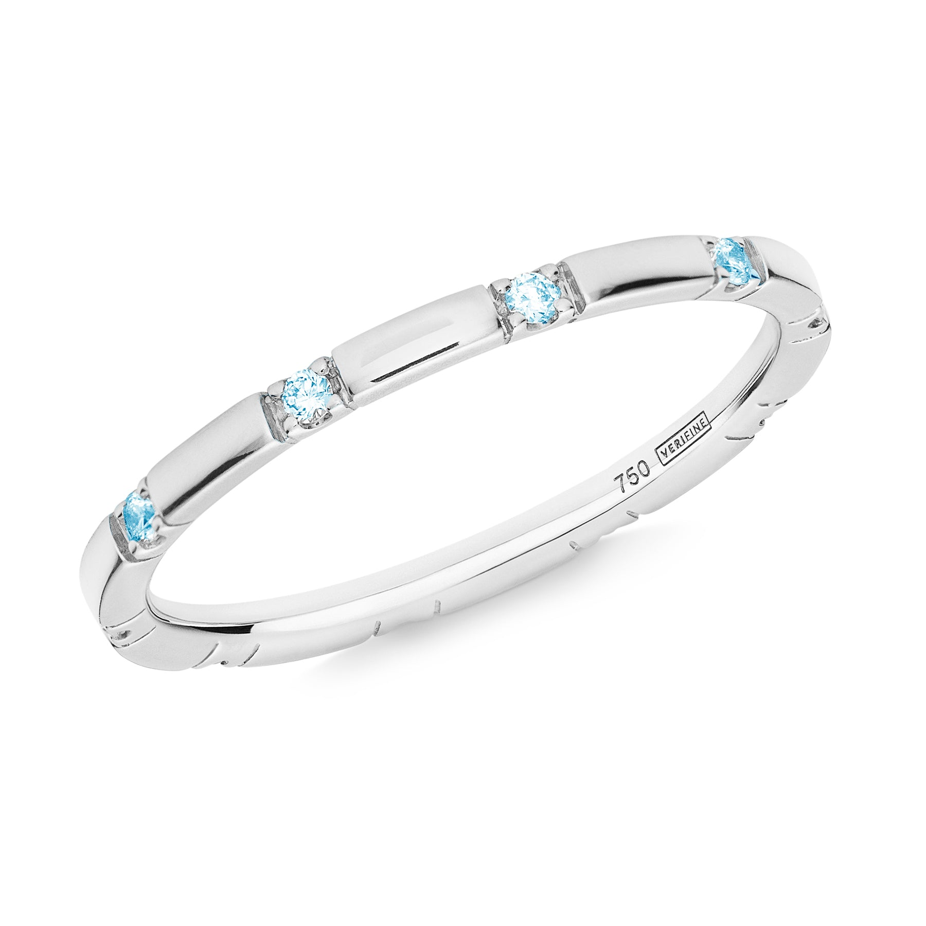 blue topaz 10-stone XX filler ring