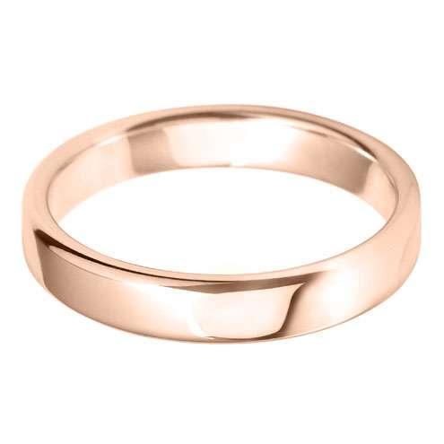 medium court 4.0mm wedding ring