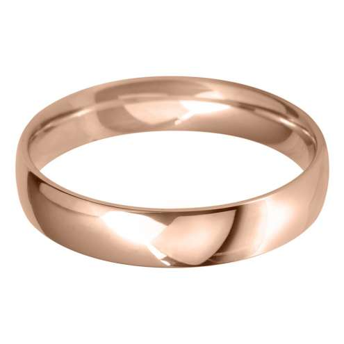 light court 4.0mm wedding ring