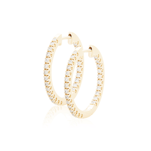 diamond full-set 20mm hoops