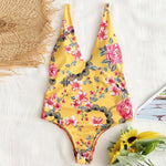 Floral One Piece Monokini