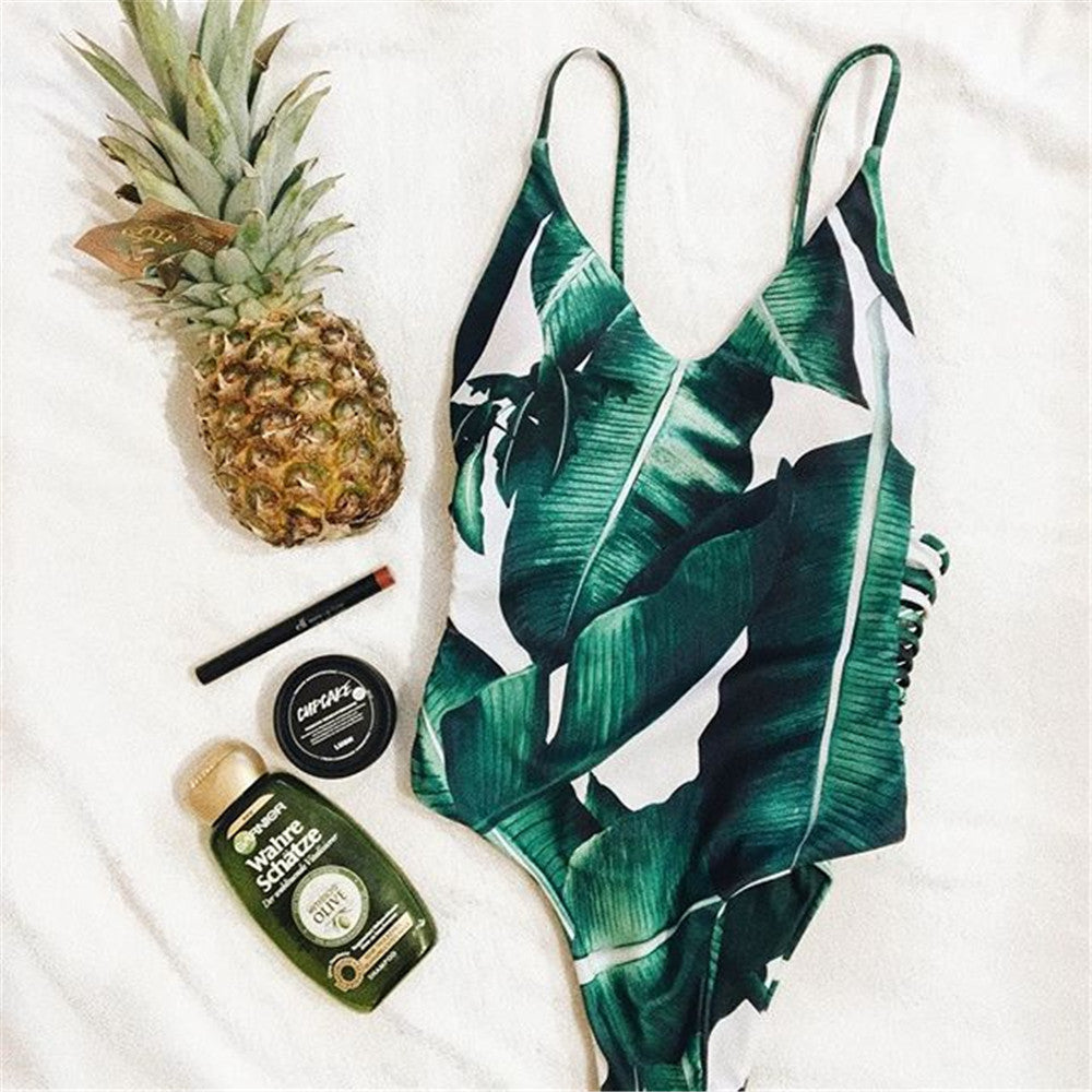 Leaf One Piece Monokini ❀