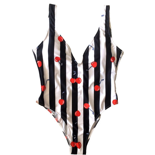 Cherry One Piece Monokini ❀