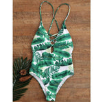 Sexy Palm One Piece Monokini ❀