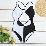 Black & White One Piece Monokini ❀