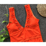 Lace Up Monokini
