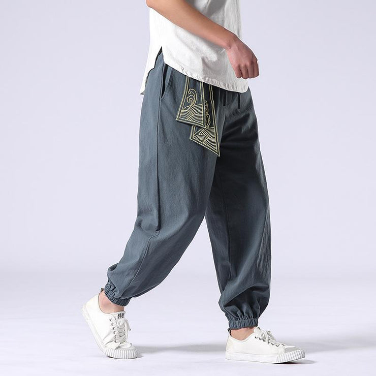 Ancient Style Grey Tight End Pant
