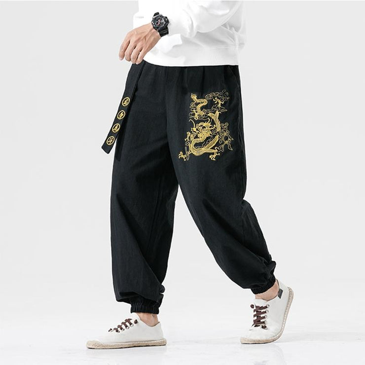 Black Dragon Tight End Pant