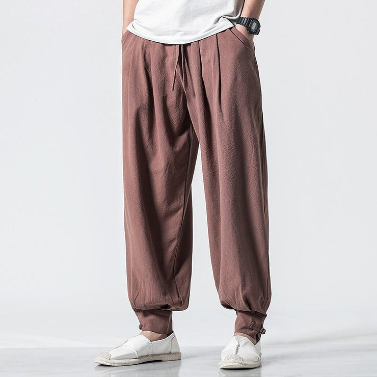 Brown Tight End Pant