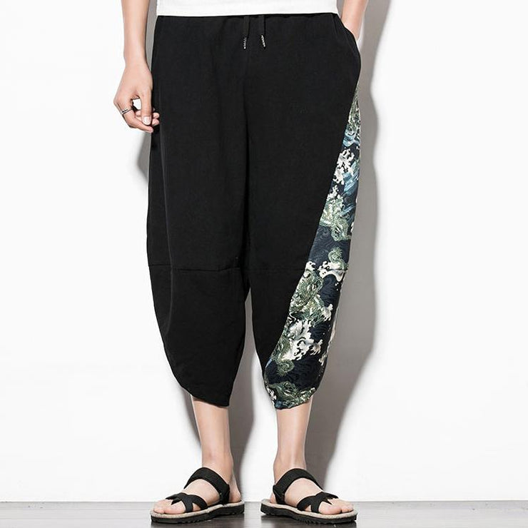 Crashing Waves Capri Cropped Pant