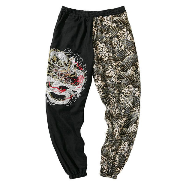 Dragon and Wave Tight End Pant