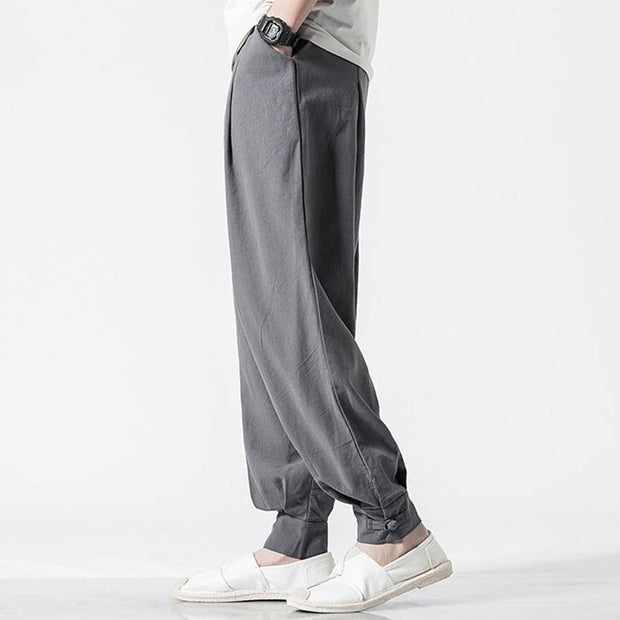Grey Tight End Pant